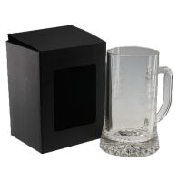 one beer mug gift box, one beer stein gift box, beer mug packaging.