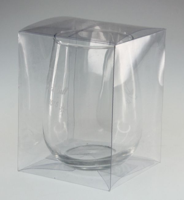 one-stemless-wine-glass-clear-PVC-gift-box-C1SWG-brisbane